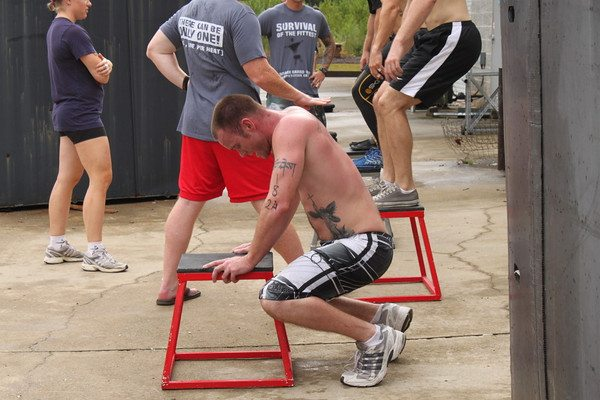 A Navy Seal Grinder Pt Workout Drink Lots Of Filtered Water Arm In Front Chest 5 Each Cow Face Stretch