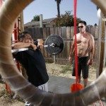 crossfit gym rings