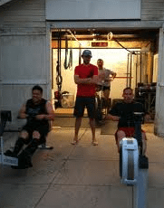 how to start crossfit training at home