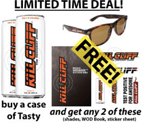 kill cliff coupon code 2013