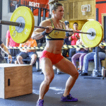 crossfit girl stacie tovar purple shoes