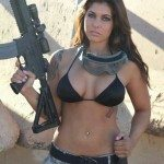 AR 15 hot girl