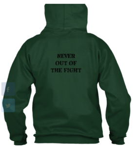 never out of the fight