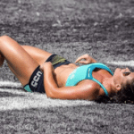 crossfit girl sleep burn fat