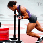 how to melt fat sled push crossfit