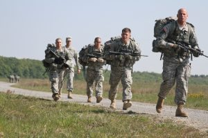 Ruck March US Army