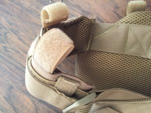 Padding and closures on Spartan Armor