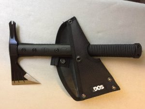 SOG Survival Hawk with SHeath