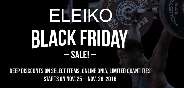 eleiko-black-friday