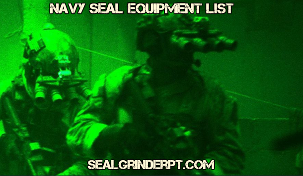 Navy SEAL Equipment List