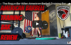 American barbell bumper plate review