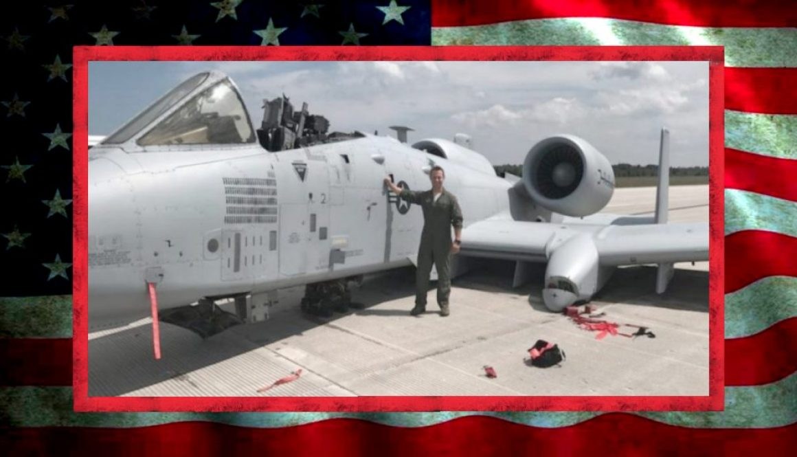 Pilot Lands A-10 Without Landing Gear or Canopy