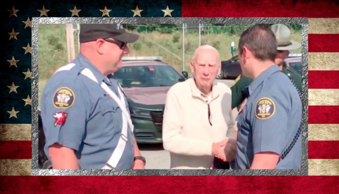 WWII Raider Escorted by Police to Marine Corps Raiders Reunion