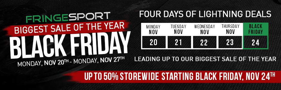 Black Friday 2017 from FringleSport
