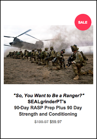 us army ranger school could you cut it sealgrinderpt