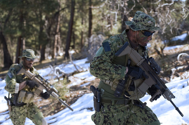 Navy SEAL and Special Forces Ammo-Based Weapons   SEALgrinderPT