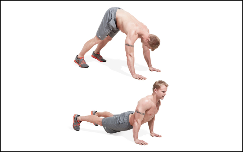 5 more killer push up variations to upgrade your fitness - Dive bomber push up ...